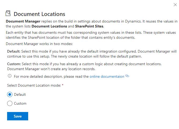 Document Locations